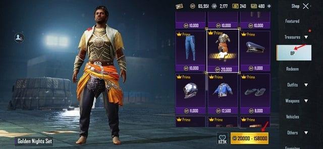 Purchase skin via Battle Points