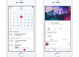 facebook launched a standalone events app
