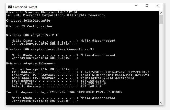 CMD - Router IP List