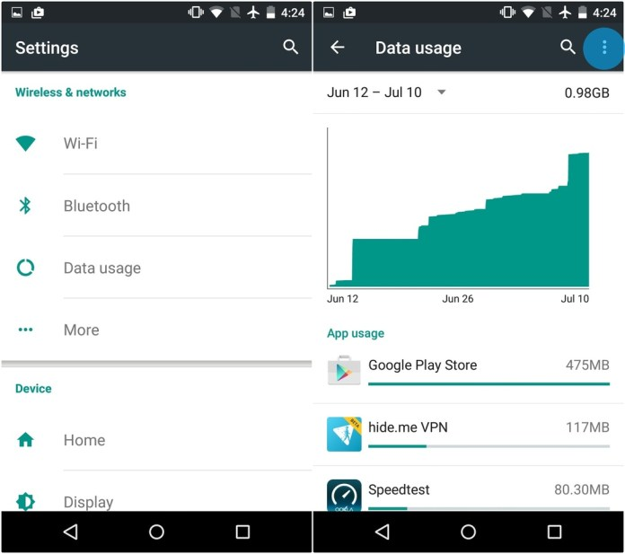 How to disable mobile data on your Android phone