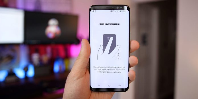 Setting Up Fingerprint Sensor on Samsung Galaxy S8 - S8 Plus