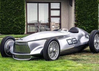 The Infiniti Prototype 9 Concept Car is a Fantasy Come True