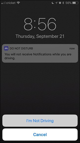 I am not Driving