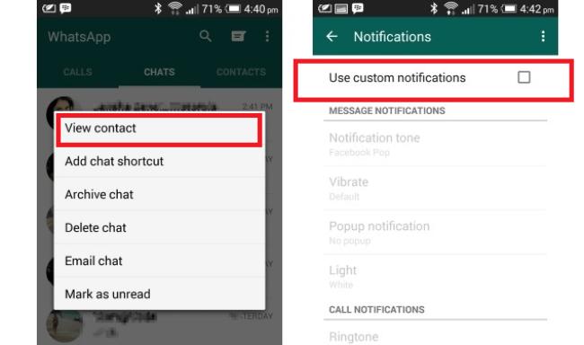 Customize notifications
