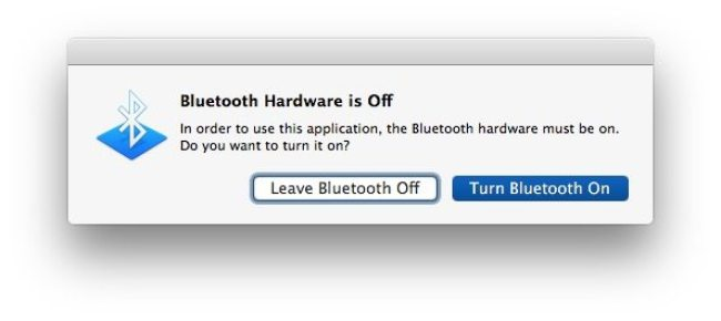 Switch that Bluetooth off