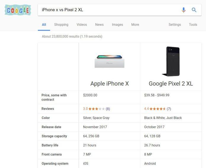google-smartphone-comparison-feature