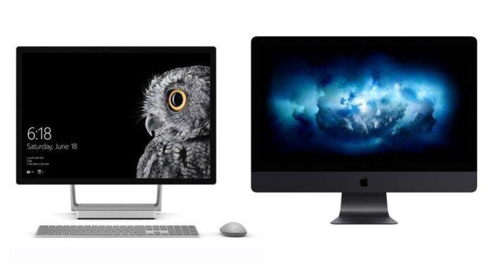 iMac Pro vs Microsoft Surface Studio Comparison Review