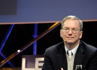 Former Google CEO Eric Schmidt is stepping down as Alphabet's executive chairman
