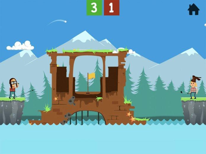 Best free iPad games: Battle Golf Online