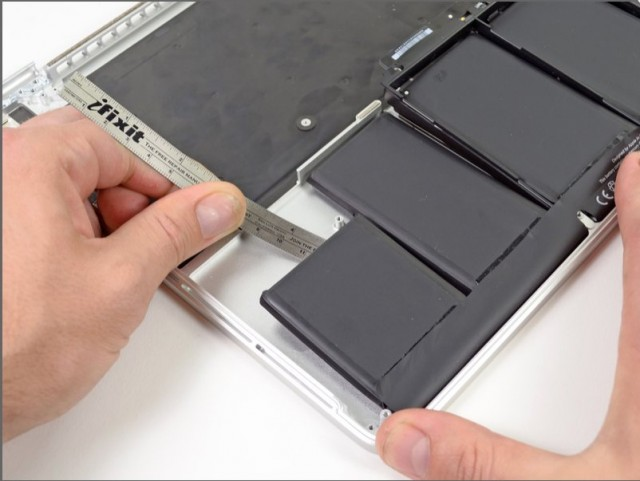 The new MBP battery. Original image by iFixit