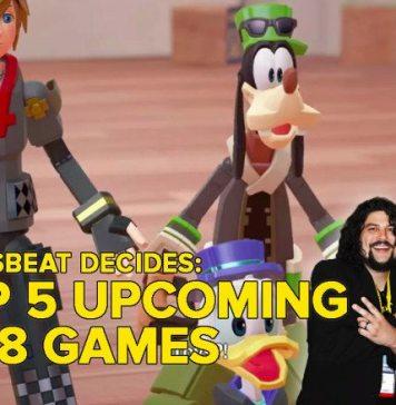 2018's top 5 biggest upcoming games