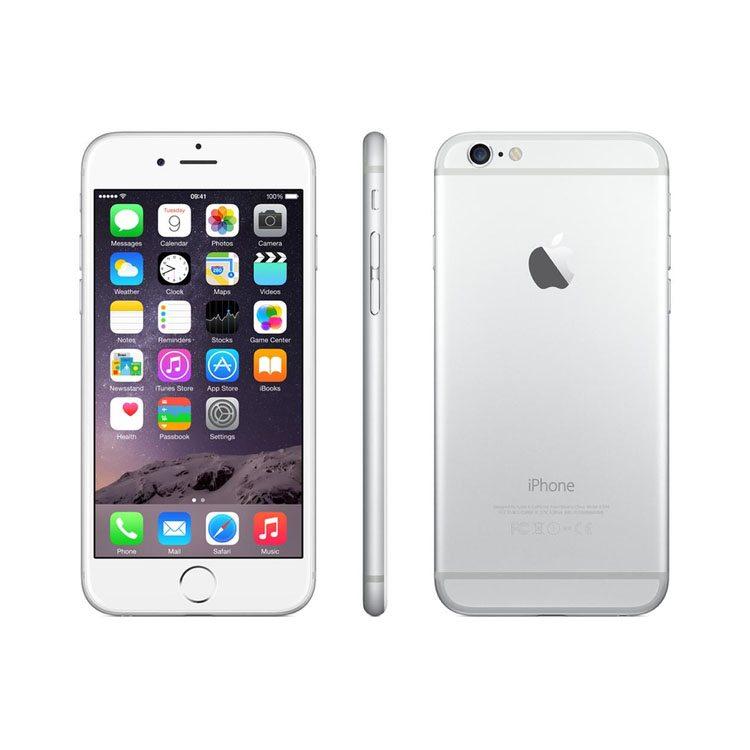 87fbca15d6a7c1 Apple Iphone 6 16GB Silver Unlocked (Used) — Techvision Electronics