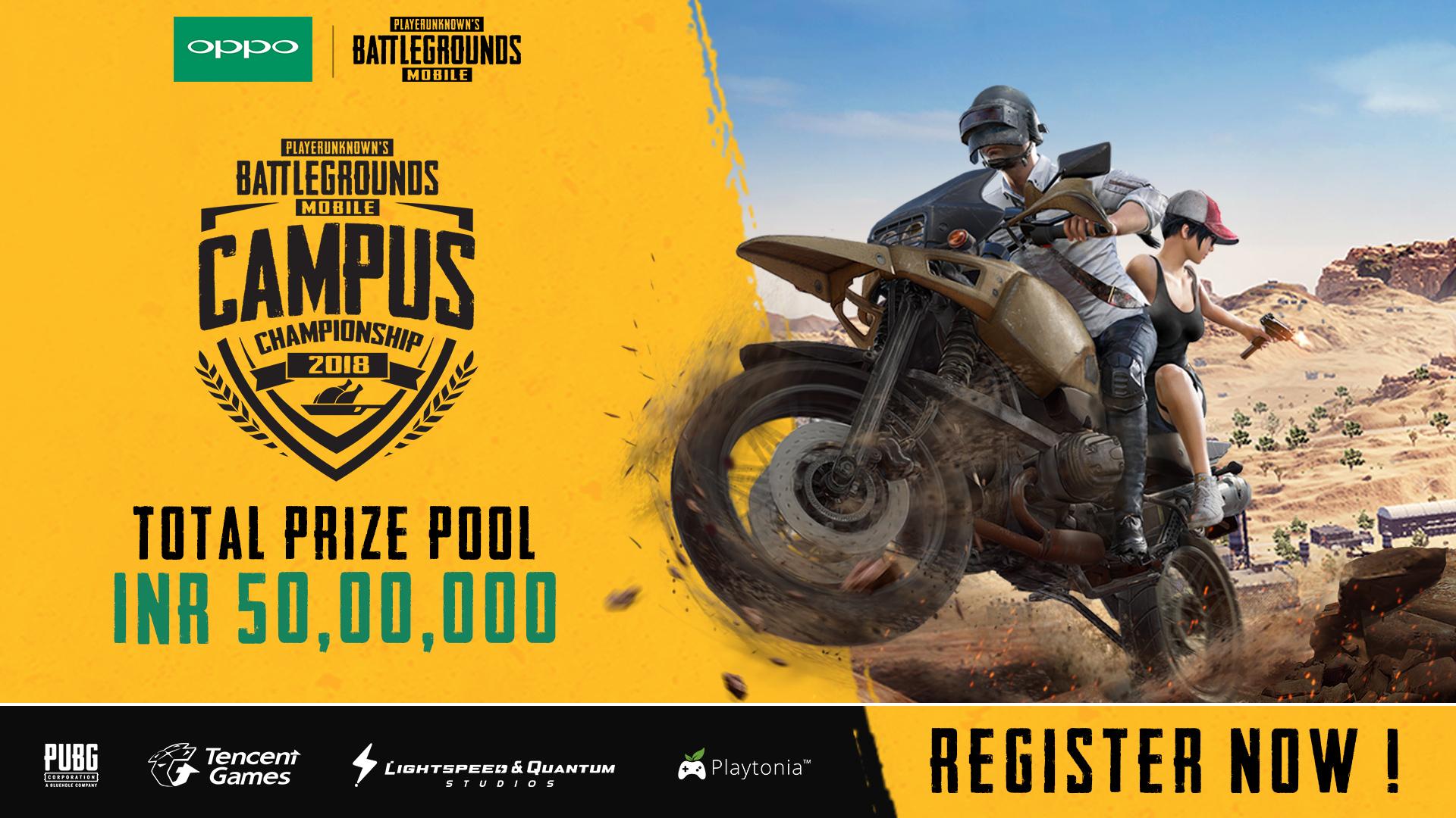 Tencent Games Announces PUBG MOBILE Campus Championship