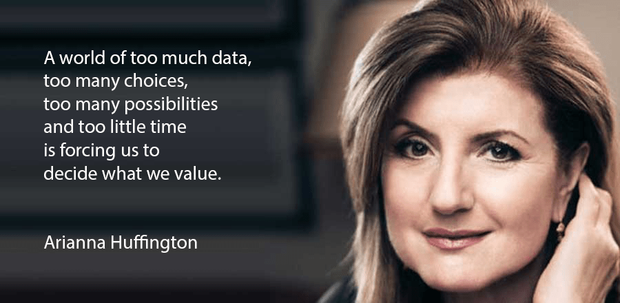 Quote from Arianna Huffington
