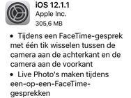 Apple iOS 12.1.1