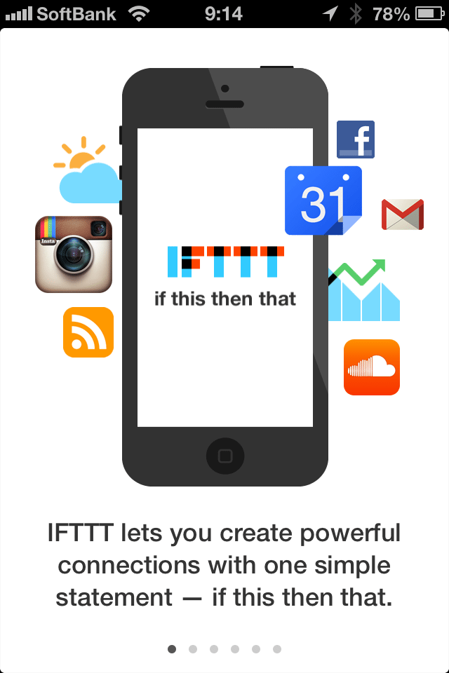 IFTTT for iPhone、アプリやウェブの機能を組み合わせられる魔法のツール 【@maskin】