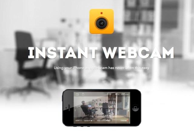 「Instant Webcam」でiPhone/iPadを屋内ウェブカム化、視聴はブラウザでOK【増田 @maskin】