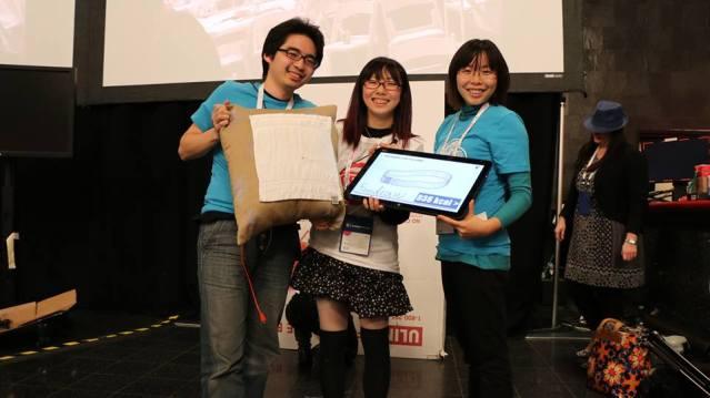 【速報】 ラスベガスで開催中のハッカソンで日本人チームが優勝 全米1位に  【@maskin】 #ces2014