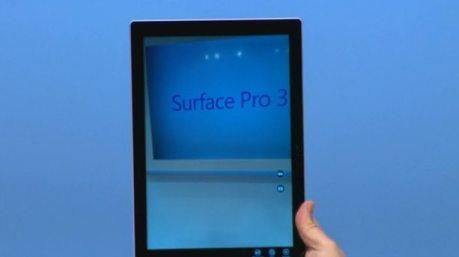 米Microsoft、MacBook Airより軽量な「Surface Pro3」を発表 【@maskin】