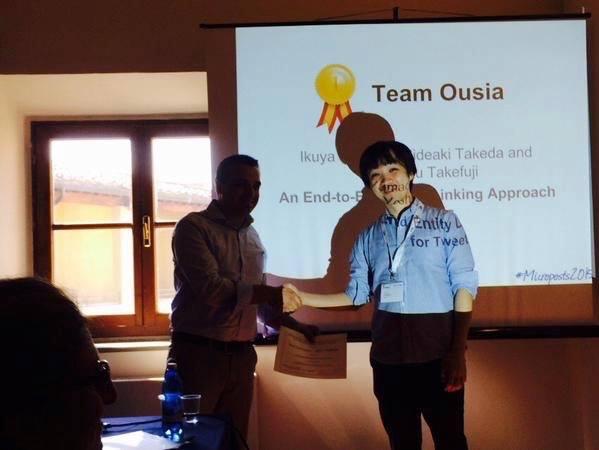 Studio Ousiaの言語処理エンジン、「エンティティ・リンキング」の国際コンペティションにて大差で優勝 @maskin