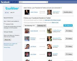 ツイッターのFacebookアプリに、ツイッターをやっている友達をフォローできる新機能 【三橋ゆか里】