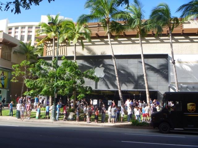 iPad購入のためだけにハワイにきました【小山】