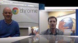 ChromeとFirefox、ブラウザだけで直接ビデオチャット可能へ 【増田 @maskin】