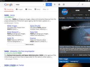 iPad向けGoogle検索アプリが進化 Androidタブレット向けより先にリリース【湯川】