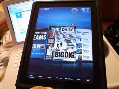 なるか新聞革命? iPad初の定期購読紙「The Daily」レビュー(1/2) 【増田(@maskin)真樹】