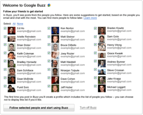 Google、Buzzサービスの使用中止設定も可能に=プライバシー問題の批判受け