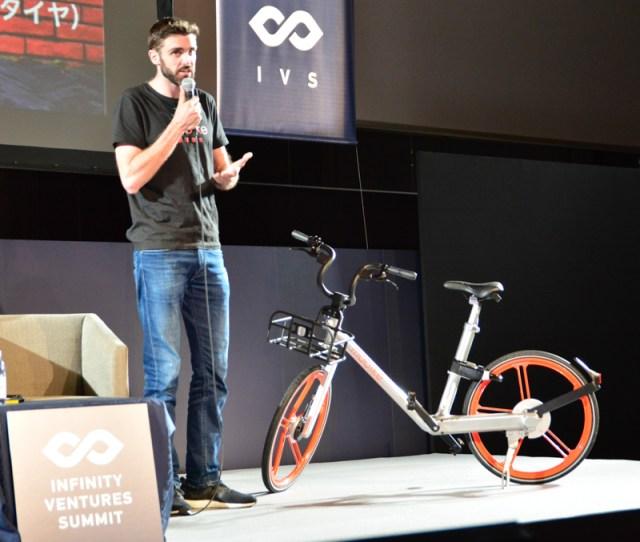 乗り捨て可能なシェア自転車「Mobike」が日本初お目見え、世界で最も使われているIoTデバイス #ivs10