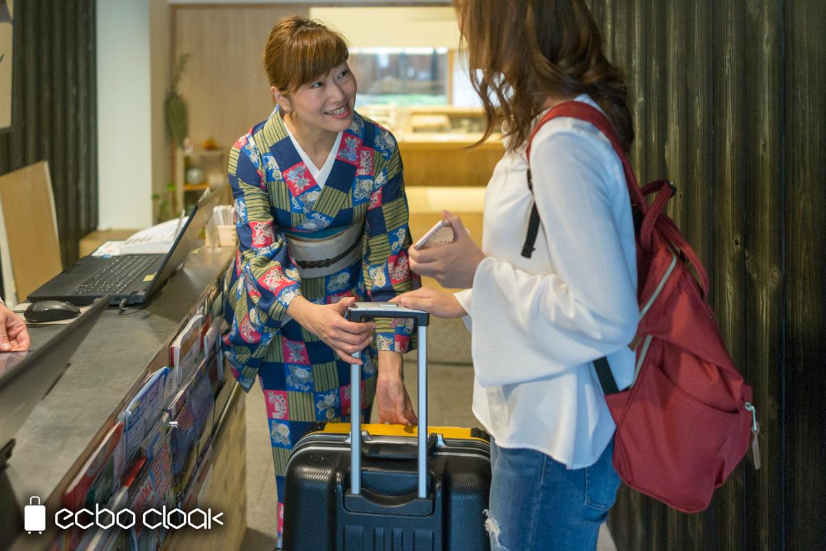 荷物預かりサービス「ecbo cloak(エクボクローク)」が東京・京都・大阪・福岡に拡大