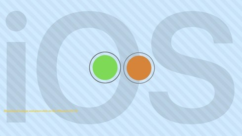 Meaning of orange and green dots on the iPhone in iOS 14