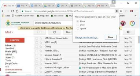 How to change your default email client