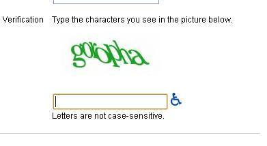Google swahili captcha
