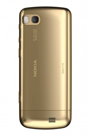 Nokia C3 touch and type Gold edition