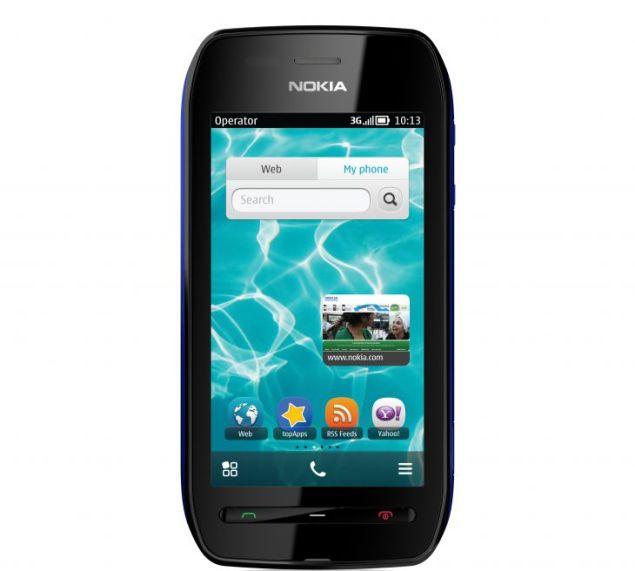 Nokia 603 front