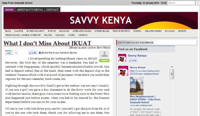 savvykenya.com
