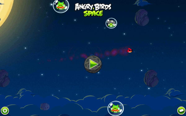 Angry Birds Space available