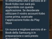 Kobo e-book store