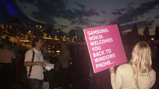 Nokia Welcomes Samsung