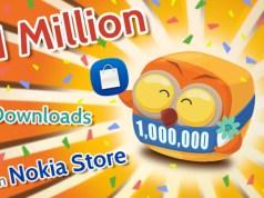 MOLOME 1 million downloads