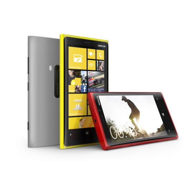 Nokia Lumia 920 colours
