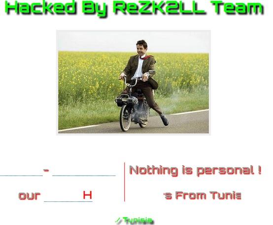 Safaricom hosted websites hack