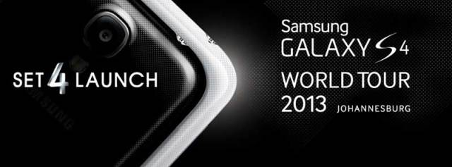 Galaxy S 4 Global Tour Johannesburg