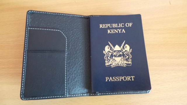 old kenyan passport