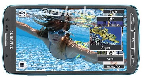 Galaxy S 4 Active Aqua Mode