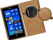 Nokia Lumia 1020 leather case