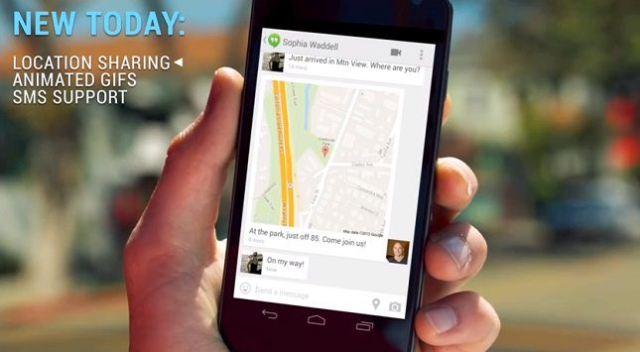 Hangouts app updated with new features - techweez