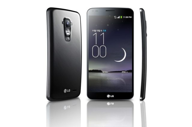 LG G Flex press image